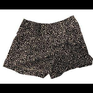 Loft Safari print shorts